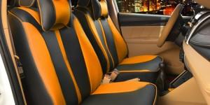 汽车坐垫座套--黄色