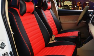 汽车坐垫座套--红色