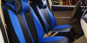 汽车坐垫座套--蓝色
