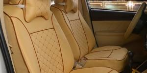 汽车坐垫座套--米色