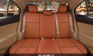 汽车坐垫座套--棕色