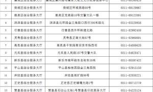 石家庄1月15日起暂停交通违法处理业务窗口工作